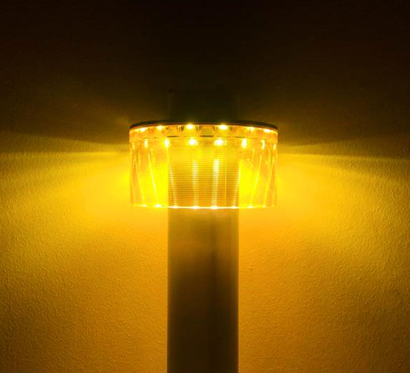 Das warme und gelbe Licht einer Amber LED gehört zu den innovativen Lichtlösungen von Albert Leuchten
